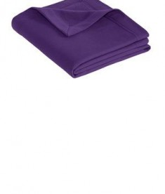 Gildan DryBlend Stadium Blanket - Purple