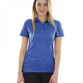 Charles River Apparel Style 2814 Women's Space Dye Polo – Royal