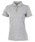 Charles River Apparel Style 2814 Womens Space Dye Polo - Grey shirt only