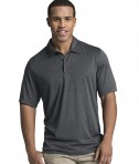Charles River Apparel Graphite Heather Heathered Polo - model