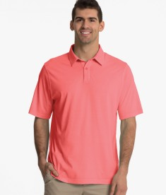 Charles River Apparel Melon Men's Seaside Polo - model