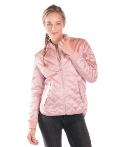 5027L-womens-quilted-boston-flight-jacket-metallic-style