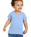 Gildan® Toddler Heavy Cotton™ 100% Cotton T-Shirt - Front - Light Blue