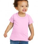 Gildan® Toddler Heavy Cotton™ 100% Cotton T-Shirt - Front - Light Pink
