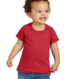 Gildan® Toddler Heavy Cotton™ 100% Cotton T-Shirt - Front - Red