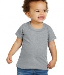 Gildan® Toddler Heavy Cotton™ 100% Cotton T-Shirt - Front - Sport Grey