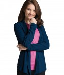 Charles River Apparel Navy Women's Cardigan Wrap - model