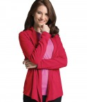 Charles River Apparel Garnet Women's Cardigan Wrap - model