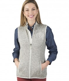 Charles River Apparel Light Grey Heather Women's Pacific Heathered Fleece