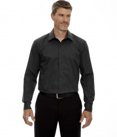 North End Men's Boardwalk Shirt Style 88674 - Black