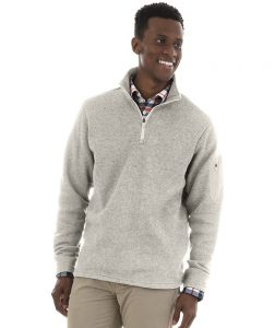 9312mens-heathered-fleece-pullover-Charles-River