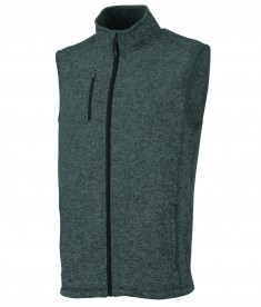 Charles River Apparel 9722 Pacific Heathered Vest Charcoal Heather