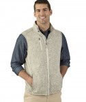 Charles River Apparel 9722 Pacific Heathered Vest Oatmeal Heather2