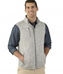 Charles River Apparel 9722 Pacific Heathered Vest Light Grey Heather2