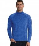 Charles River Apparel Royal Men's Space Dye Performance Pullover - model
