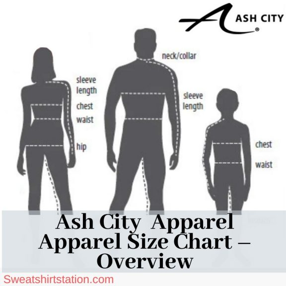 Ash City Size Chart overview