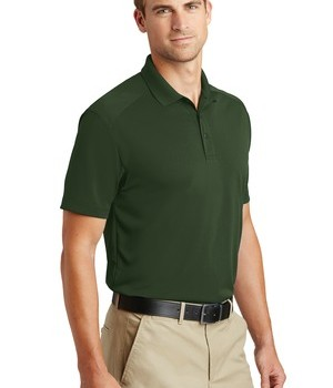 CornerStone Select Lightweight Snag-Proof Polo Style CS418 – Dark Green – Model