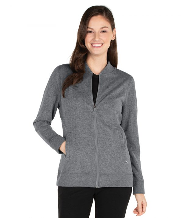 Charles RIver Women's Adventure Jacket 5087 Pewter Heather
