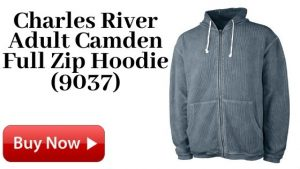 Charles River Adult Camden Full Zip Hoodie (9037) For Sale