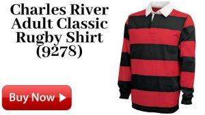 Charles River Adult Classic Rugby Shirt (9278) Forsale