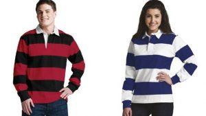 Charles River Adult Classic Rugby Shirt (9278) Men and Women