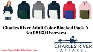 Charles River Adult Color Blocked Pack-N-Go (9012) Colors and styles