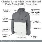 Charles River Adult Color Blocked Pack-N-Go (9012) Overview