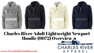 Charles River Adult Lightweight Newport Hoodie (9072) Colors