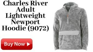 Charles River Adult Lightweight Newport Hoodie (9072) For Sale