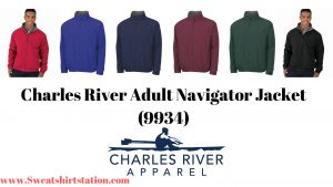 Charles River Adult Navigator Jacket (9934) Overview