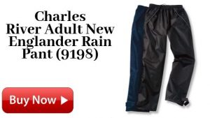 Charles River Adult New Englander Rain Pants (9198) For Sale