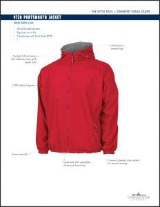 Charles River Adult Portsmouth Jacket (9720)