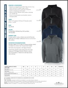 Charles River Adult Seaport Quarter Zip Hoodie 9068