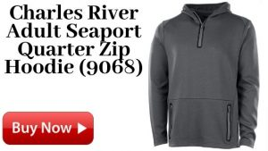 Charles River Adult Seaport Quarter Zip Hoodie For Sale