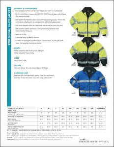 Charles River Adult Signal Hi-Vis Jacket (9732) Colors