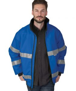 Charles River Adult Signal Hi-Vis Jacket (9732) Model Navy