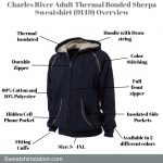 Charles River Adult Thermal Bonded Sherpa Sweatshirt Overview