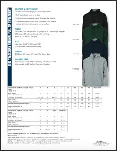 Charles River Adult Tradesman Full Zip Sweatshirt Colors