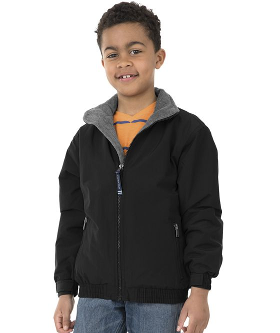 Charles River Apparel 8934 Youth Navigator Jacket Black