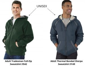 Charles River Apparel Full-Zip Sweatshirt Styles