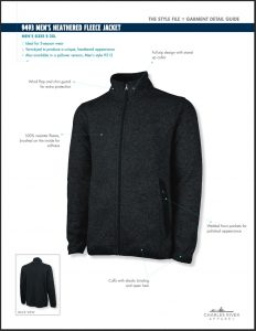 Charles River Apparel Mens Fleece Jacket Overview