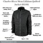 Charles River Apparel Mens Lithium Quilted Jacket (9540)