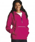 Style 8904 Adult Pack-N-Go Pullover - Hot Pink