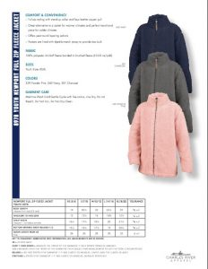Charles River Apparel Youth Newport Fleece Jacket 8978 Colors and Sizes