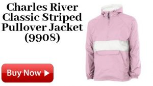 Charles River Classic Striped Pullover Jacket (9908) For Sale