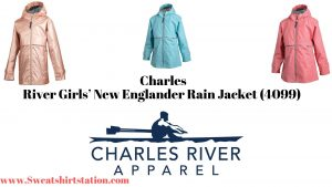 Charles River Girls' New Englander Rain Jacket (4099) Colors