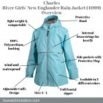 Charles River Girls' New Englander Rain Jacket (4099) Overview