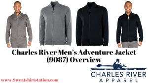 Charles River Men's Adventure Jacket (9087) Colors