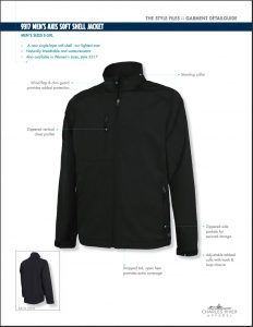 Charles River Men's Axis Soft Shell Jacket (9317)