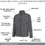 Charles River Men's Axis Soft Shell Jacket (9317) Overview